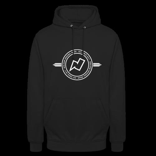 'Nielsow cirkel' Unisex hoodie (zwart) - Hoodie unisex
