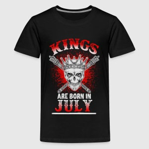 July - King - birthday - 3 - EN Shirts - Teenage Premium T-Shirt