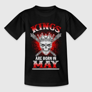 May - King - birthday - 3 - EN Shirts - Kids' T-Shirt