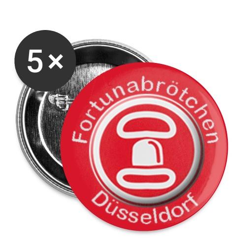 Fortunabrötchen Buttons - Buttons klein 25 mm (5er Pack)