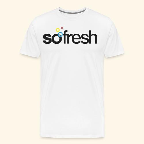 sofresh (b) - T-Shirt Fox - Männer Premium T-Shirt
