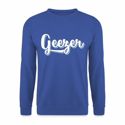 Geezer London Slang Men's Sweatshirt - Men's Sweatshirt