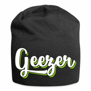 Geezer London Slang Relaxed Beanie Hat - Jersey Beanie