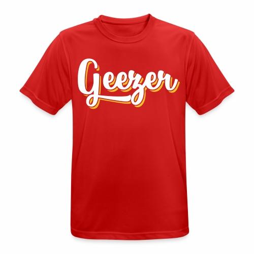 Geezer London Slang Men's Breathable T-Shirt - Men's Breathable T-Shirt