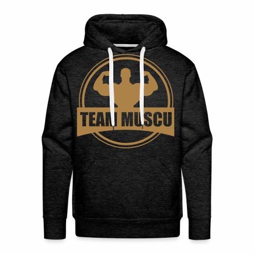 Gold Men - Sweat-shirt à capuche Premium pour hommes