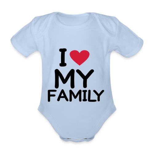 THE PRETY BABY - Kortærmet babybody, økologisk bomuld