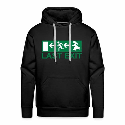 EXIT ! - Sweat-shirt à capuche Premium pour hommes