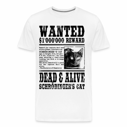 Wanted. - T-shirt Premium Homme
