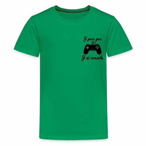 Green console - T-shirt Premium Ado