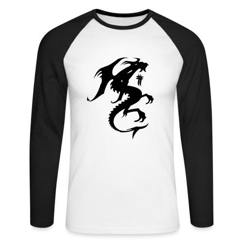 black octane - Langærmet herre-baseballshirt