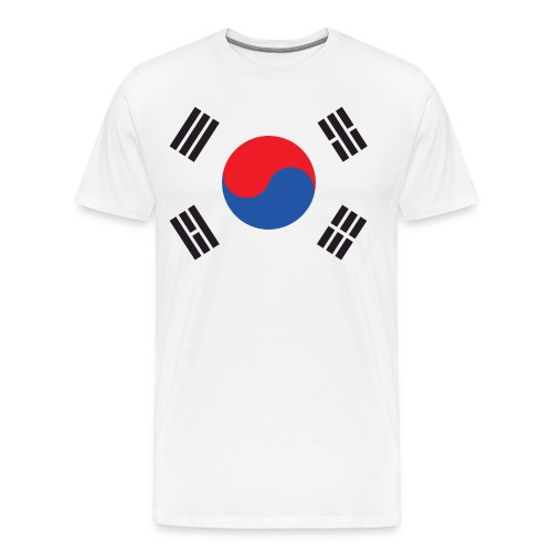 SYDKOREA - Premium-T-shirt herr