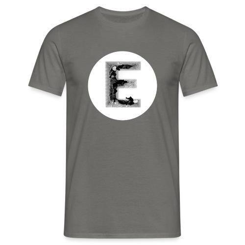 Buchstabe E T-Shirts - Männer T-Shirt