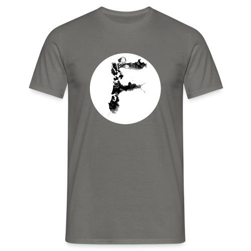 Buchstabe F - Männer T-Shirt