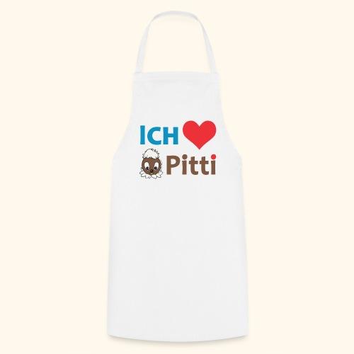 Kochschürze Ich liebe Pitti  - Kochschürze