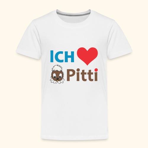 Kinder Premium T-Shirt Ich liebe Pitti  - Kinder Premium T-Shirt