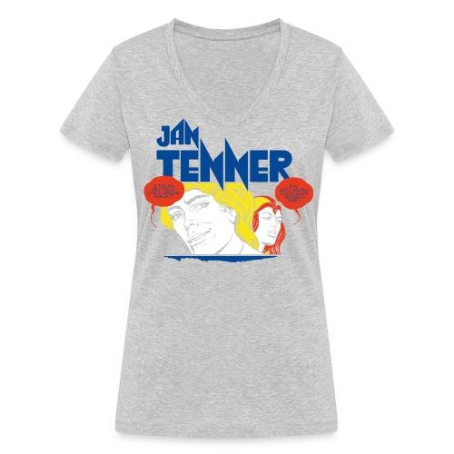 Jan Tenner Sprechblasen - Frauen Bio-T-Shirt mit V-Ausschnitt von Stanley & Stella