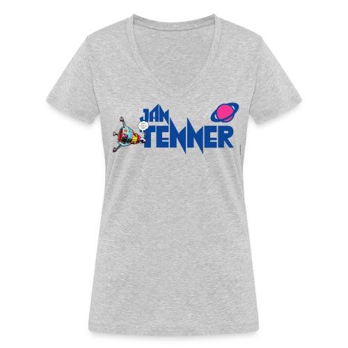 Jan Tenner Raumsonde Planet - Frauen Bio-T-Shirt mit V-Ausschnitt von Stanley & Stella