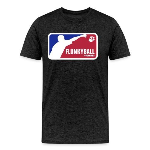 Flunkyball für den Herrn - Männer Premium T-Shirt