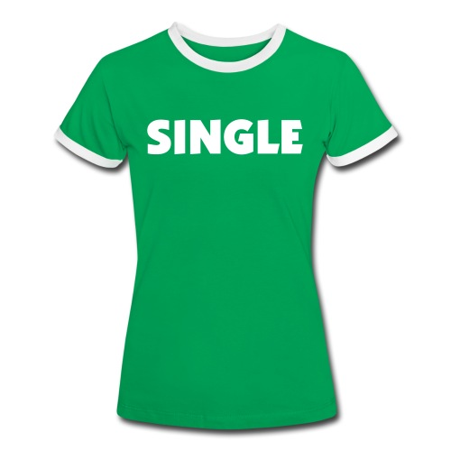 T-Shirt Contrast Woman - SINGLE - Women's Ringer T-Shirt