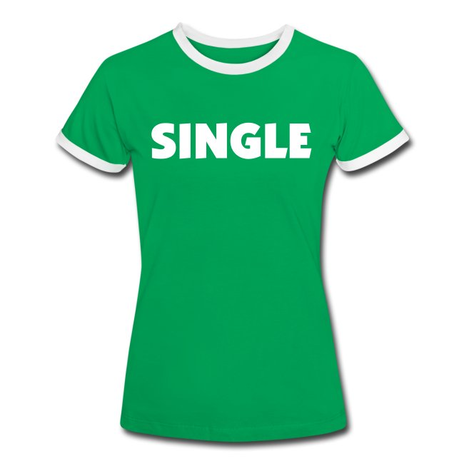 T-Shirt Contrast Woman - SINGLE