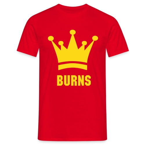 King Burns - T-shirt Homme