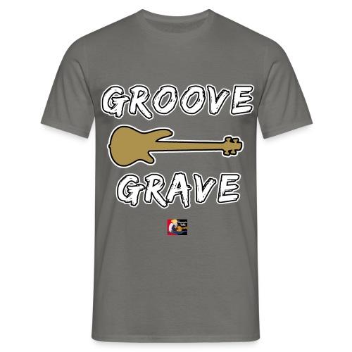 GROOVE GRAVE - JEUX DE MOTS - FRANCOIS VILLE - T-shirt Homme