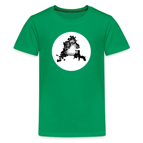 Buchstabe A - Teenager Premium T-Shirt