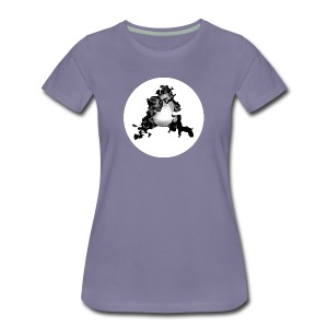 Buchstabe A - Frauen Premium T-Shirt
