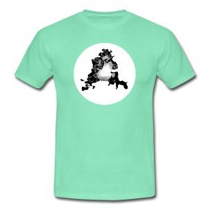 Buchstabe A - Männer T-Shirt