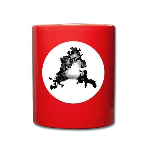 Buchstabe A - Tasse einfarbig