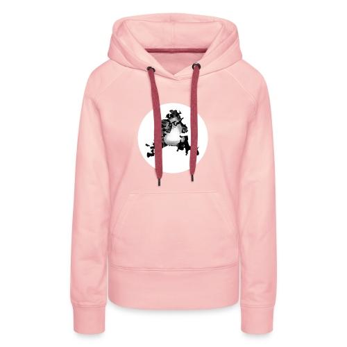 Buchstabe A - Frauen Premium Hoodie