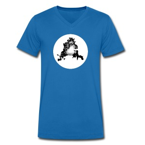 Buchstabe A - Männer Bio-T-Shirt mit V-Ausschnitt von Stanley & Stella