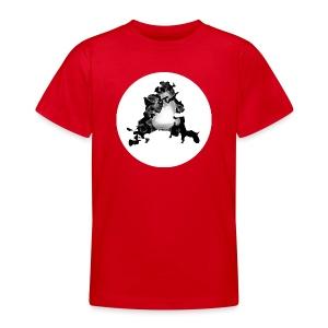 Buchstabe A - Teenager T-Shirt