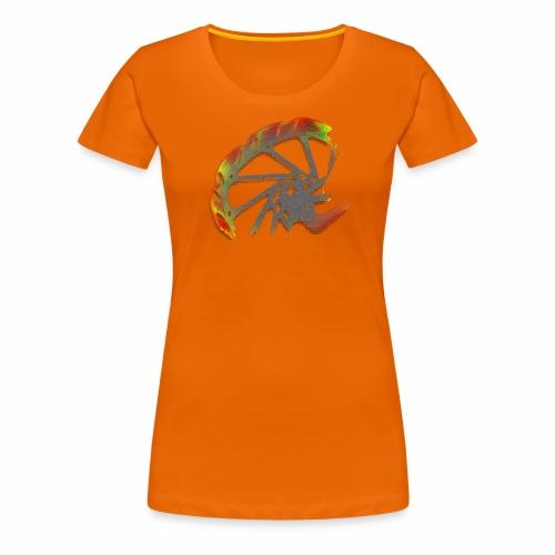 orangene Bremsscheibe - Frauen T-Shirt - Frauen Premium T-Shirt
