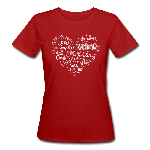 Hart vrouwen bio - Vrouwen Bio-T-shirt