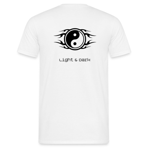 Light and Dark - Men's T-Shirt