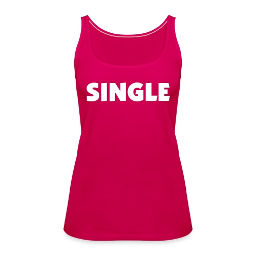 SINGLE ON TOUR - Top - Women's Premium Tank Top