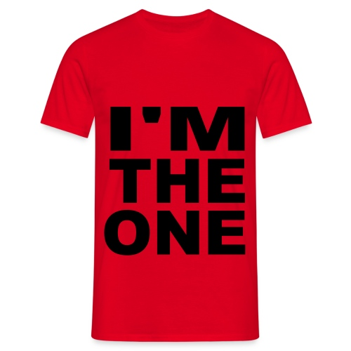I'M THE ONE - T-shirt herr
