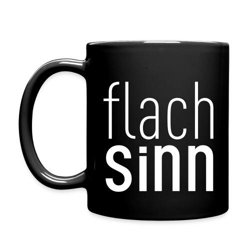 Flachsinn Tasse - Tasse einfarbig