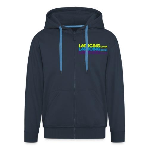 LMRacing 2017 hoodie blue multiple - Men's Premium Hooded Jacket