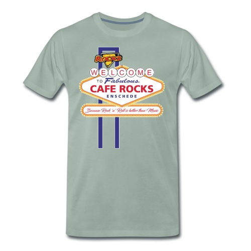Welcome to Fabulous Rocks - Mannen Premium T-shirt