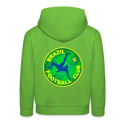 Brazil Football club - Kids' Premium Hoodie