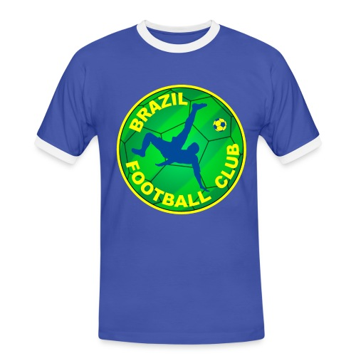 Brazil Football club - Men's Ringer Shirt
