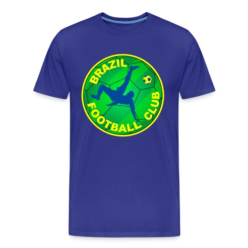 Brazil Football club - Men's Premium T-Shirt