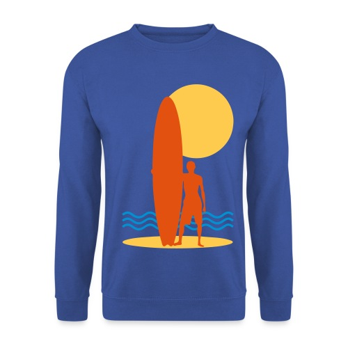 Surfing sport design - Men's Sweatshirt