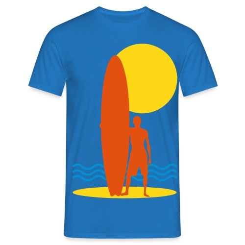 Surfing sport design - Men's T-Shirt