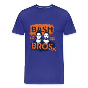 Bash Bros - Premium-T-shirt herr