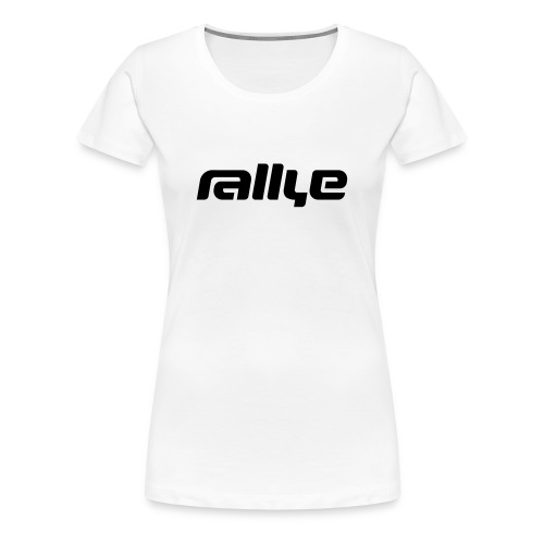 rallye logo-shirt (Girls) - Frauen Premium T-Shirt
