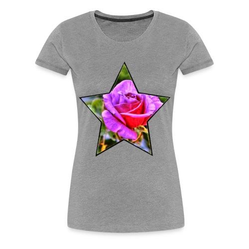 Rosen-Stern - Frauen Premium T-Shirt