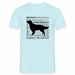 Golden Retriever - T-shirt herr